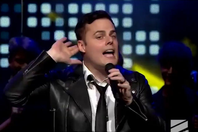 Marc Martel foi o convidado especial do do Golden Wave Music