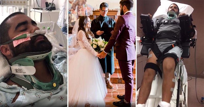 Do pronto-socorro ao corredor: a jornada de um ano de uma paralisia do pescoço para baixo