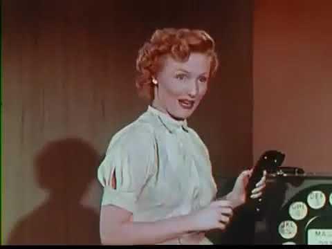 Dicas de discagem: Filme instrucional da década de 1950 sobre como usar um telefone com disco
