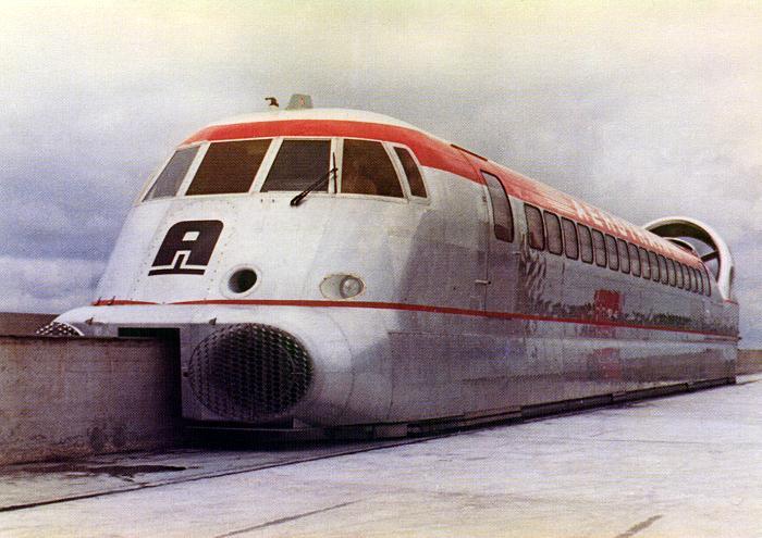 Aerotrem, o trem de alta velocidade que quase revolucionou o transporte ferroviário