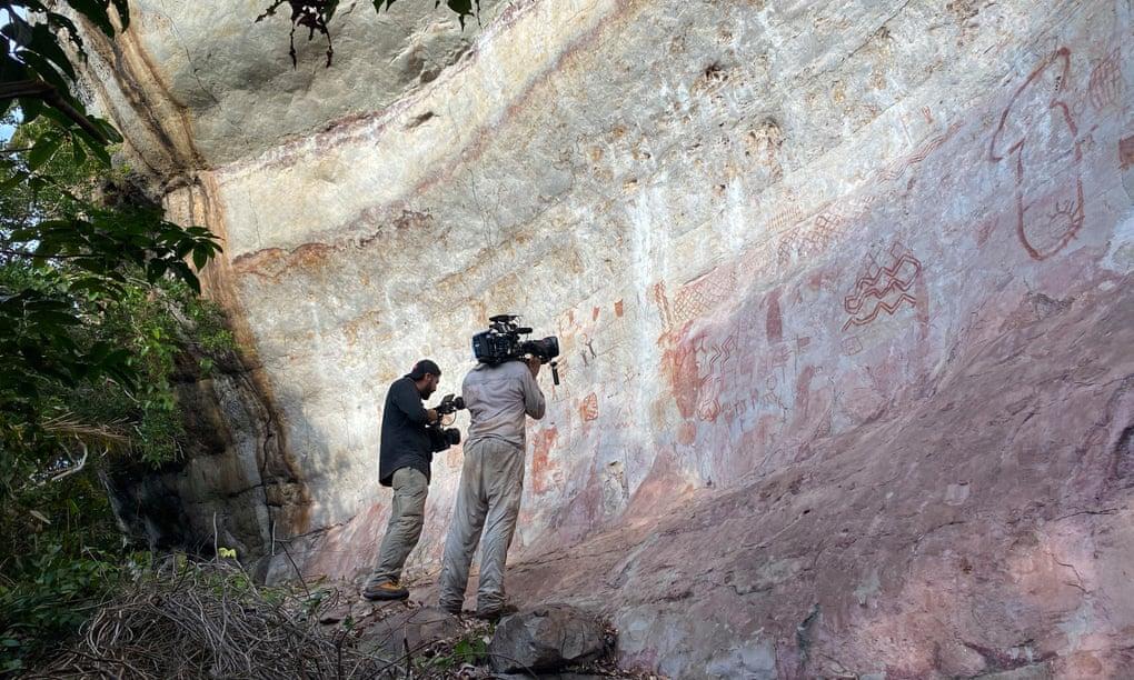 'Capela Sistina da Antiguidade': dezenas de milhares de pinturas da Idade do Gelo descobertas em uma área remota da Amazônia