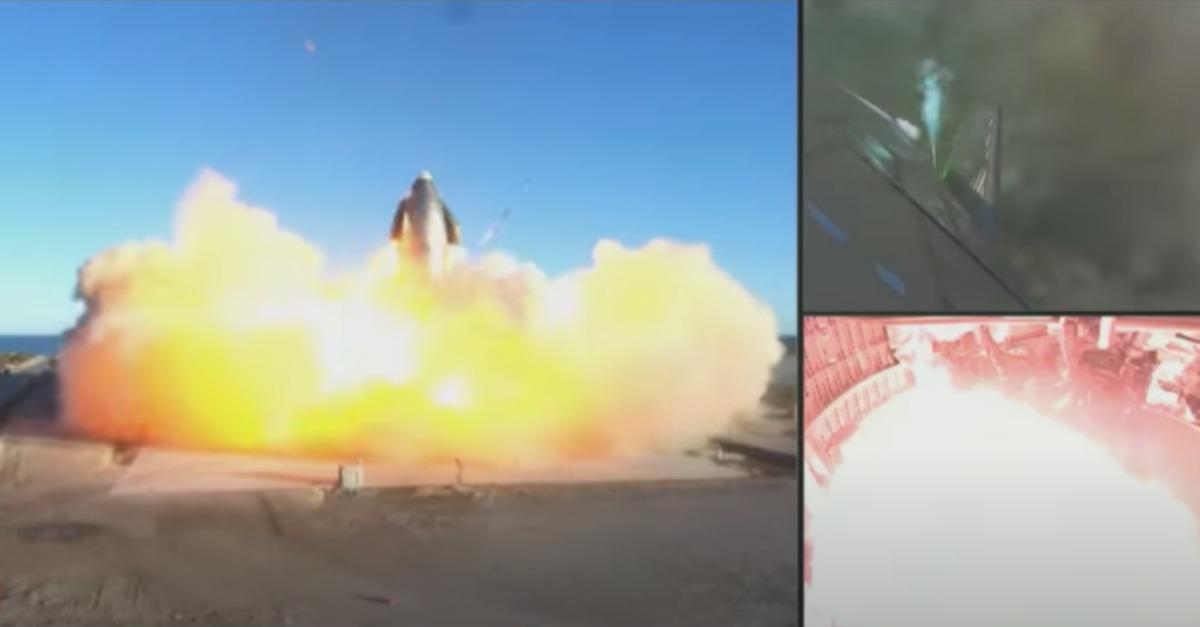 Protótipo da nave espacial da SpaceX explode durante tentativa de aterrissagem