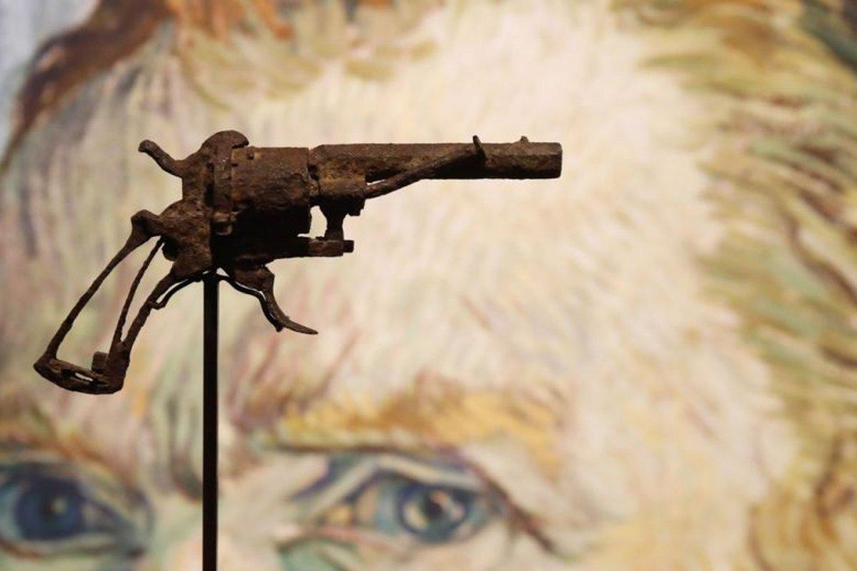 Esta supostamente foi a arma que van Gogh usou para se matar