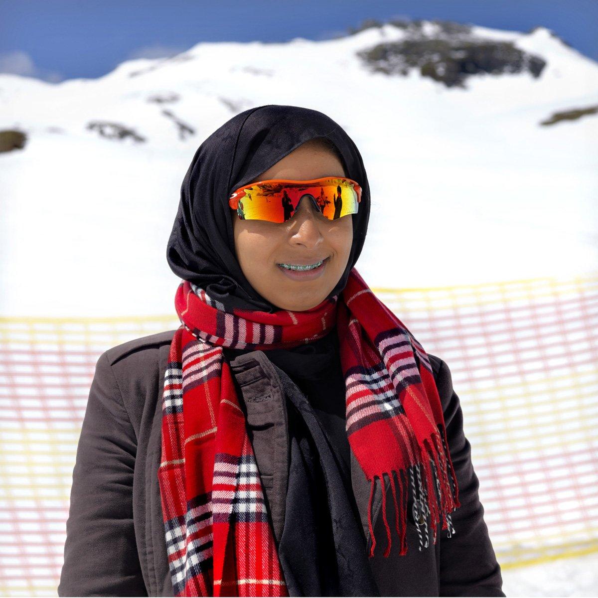 Turistas do Oriente Médio invadem cidade idílica alpina para escapar do calor do verão escaldante 05