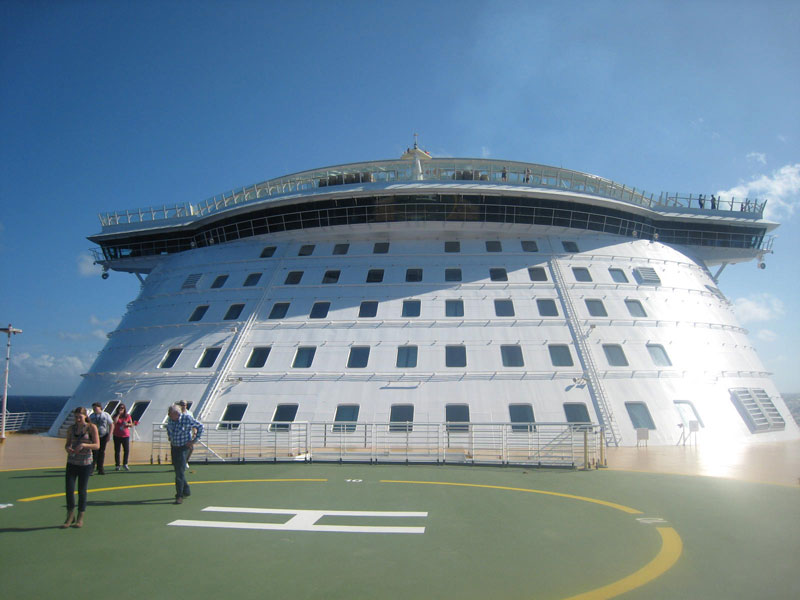 Allure of the Seas: nos bastidores do maior navio de cruzeiros do mundo 16