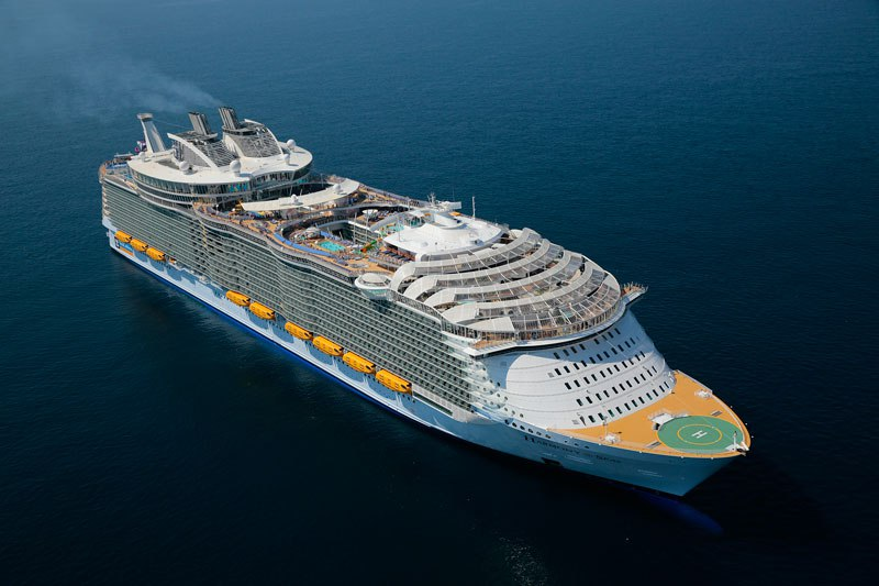 Harmony of the Seas: a bordo do maior navio de passageiros do mundo 01