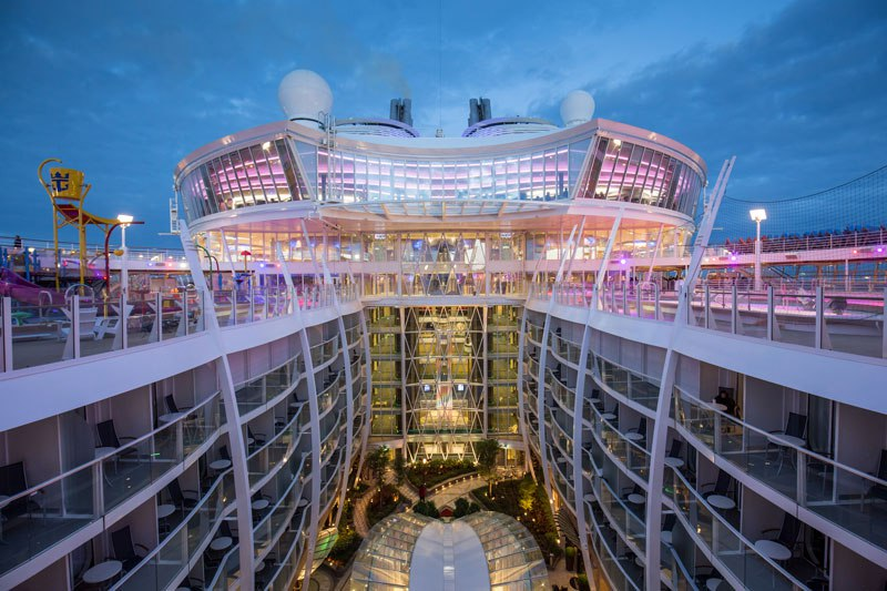 Harmony of the Seas: a bordo do maior navio de passageiros do mundo 03