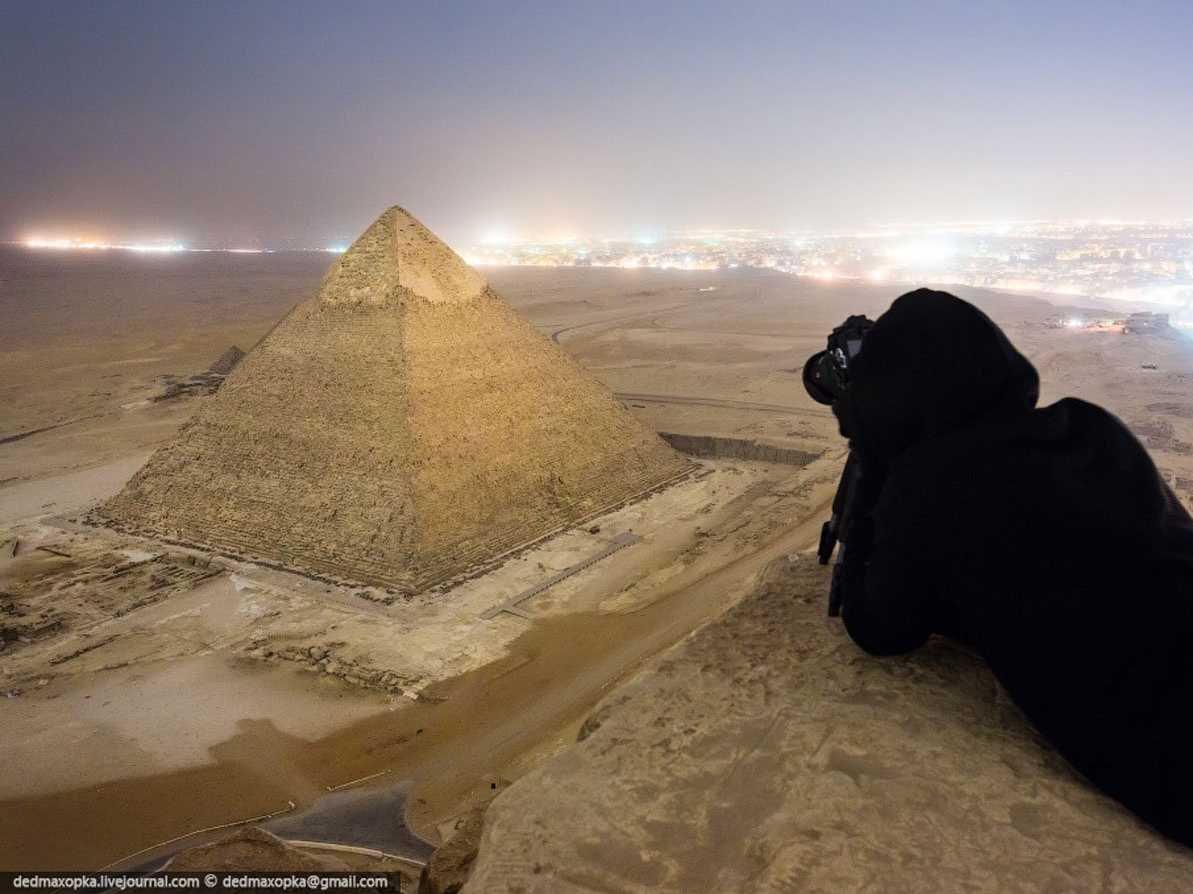 Fotografias, tomadas ilegalmente de monumentos famosos, que curam o soluço 01