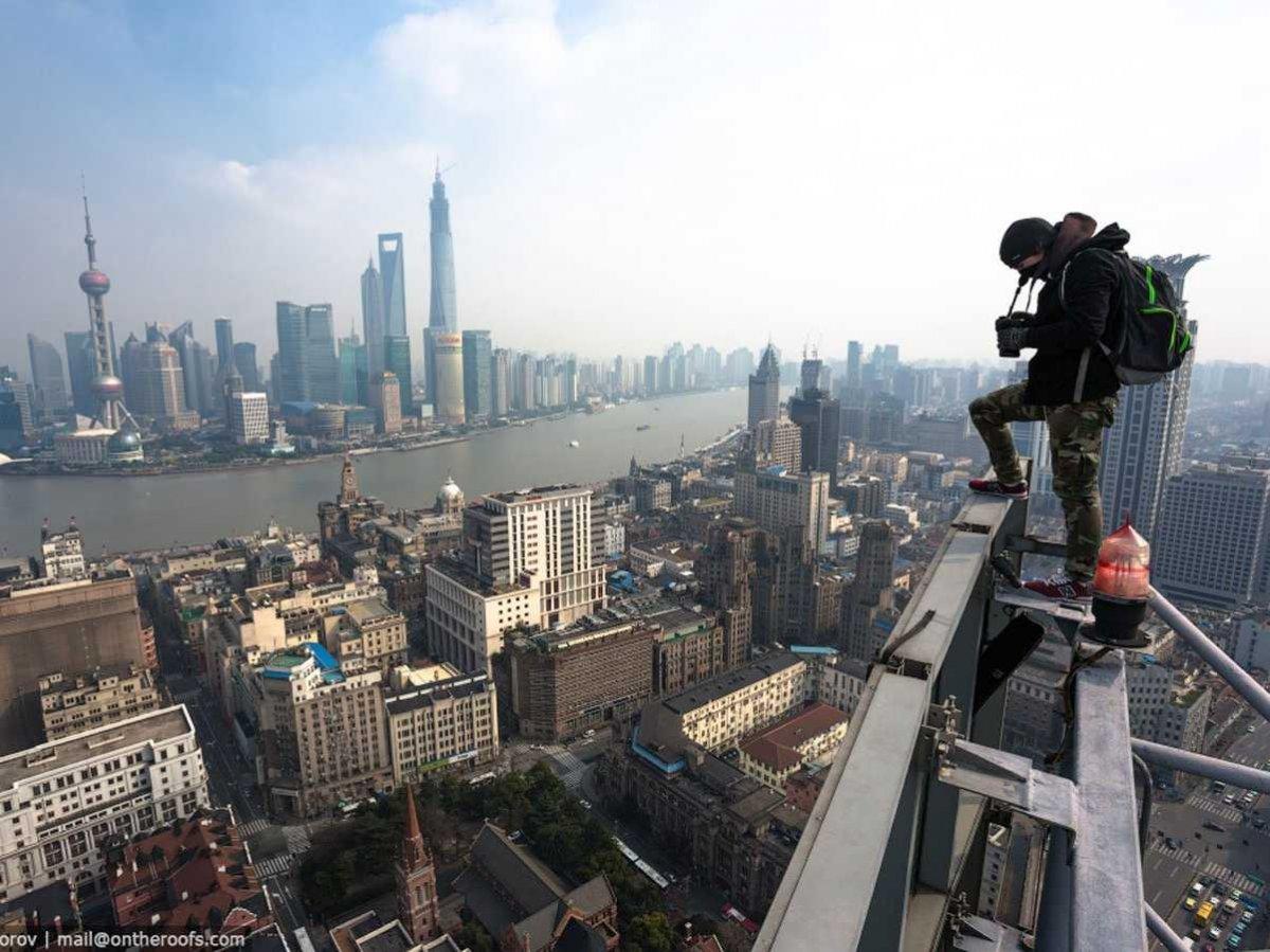 Fotografias, tomadas ilegalmente de monumentos famosos, que curam o soluço 07