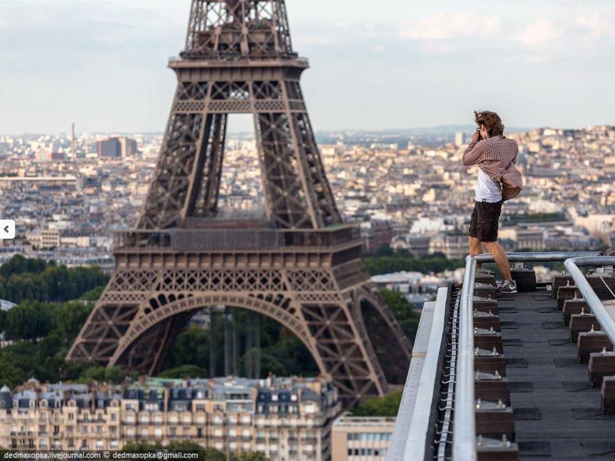 Fotografias, tomadas ilegalmente de monumentos famosos, que curam o soluço 10