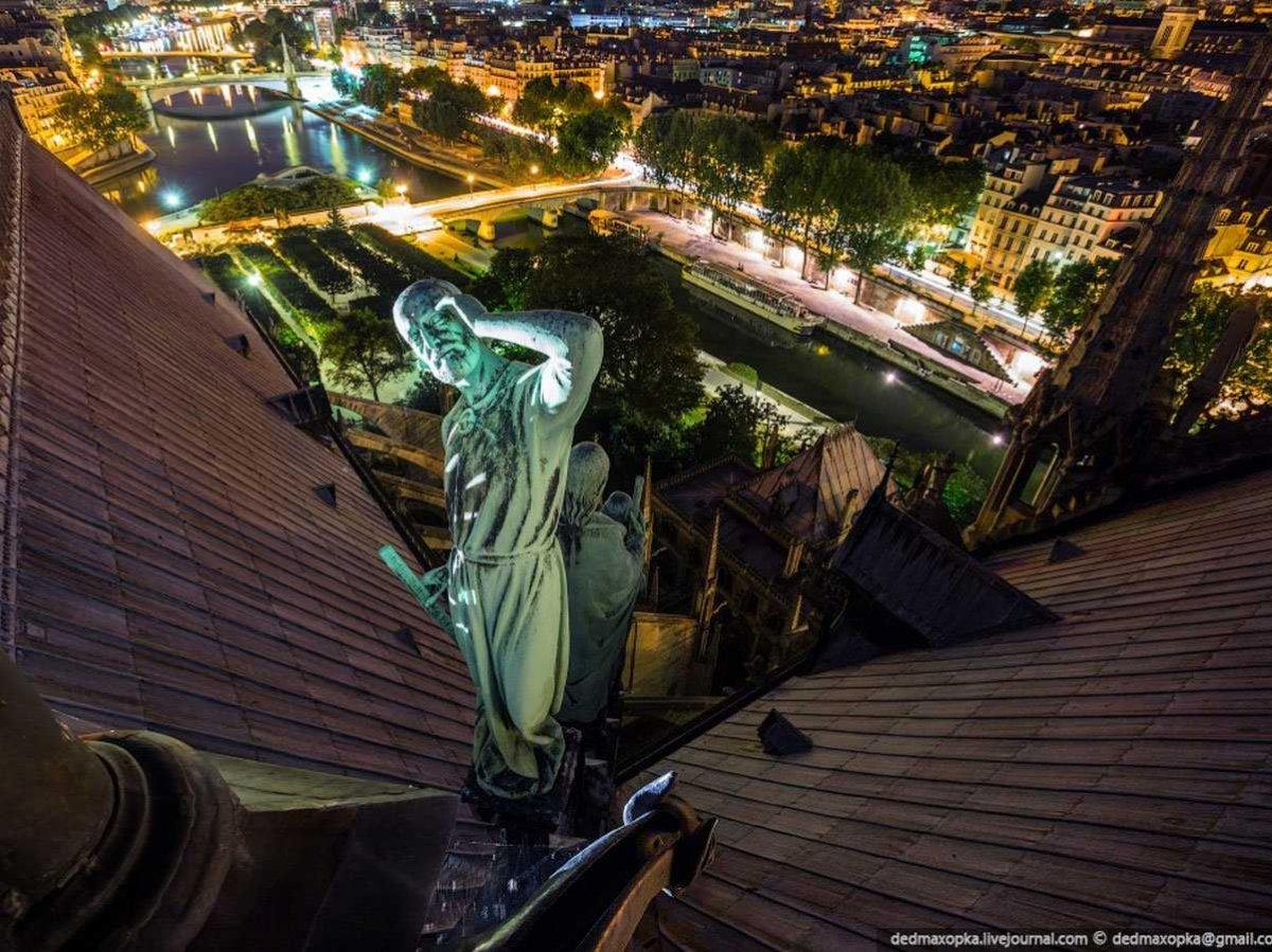 Fotografias, tomadas ilegalmente de monumentos famosos, que curam o soluço 12
