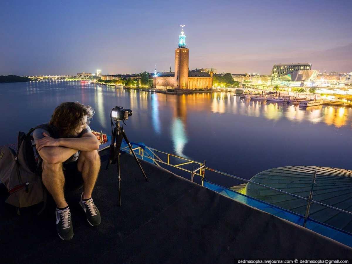 Fotografias, tomadas ilegalmente de monumentos famosos, que curam o soluço 16