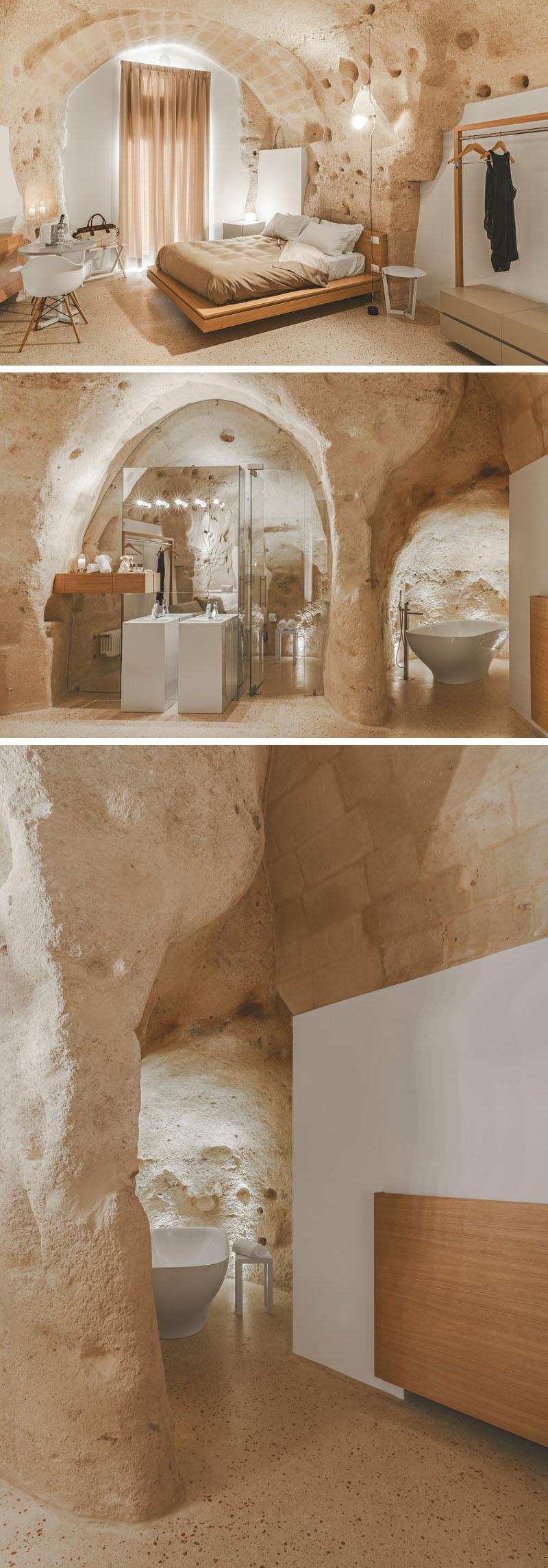Arquitetos italianos transformam antiga caverna em um oásis moderno 02