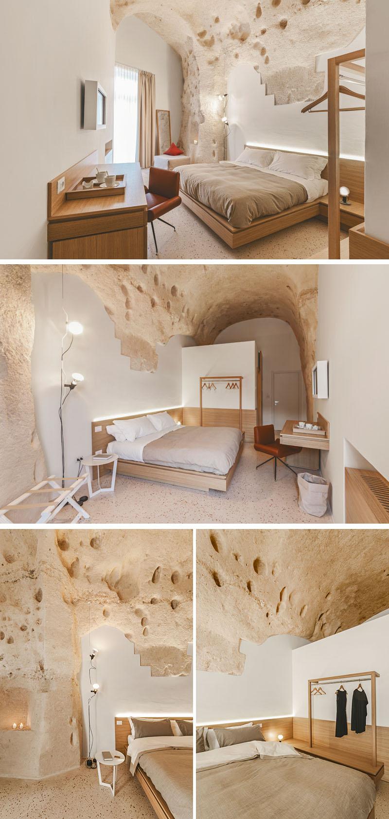 Arquitetos italianos transformam antiga caverna em um oásis moderno 03