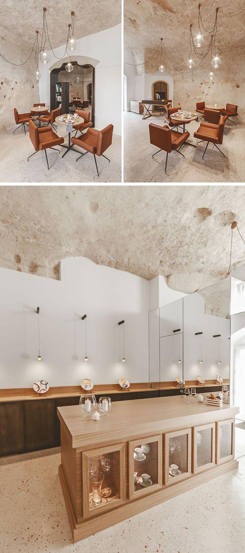 Arquitetos italianos transformam antiga caverna em um oásis moderno 08