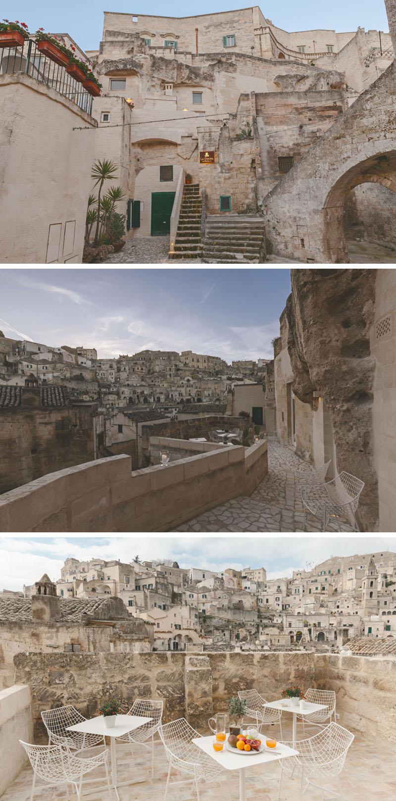 Arquitetos italianos transformam antiga caverna em um oásis moderno 09