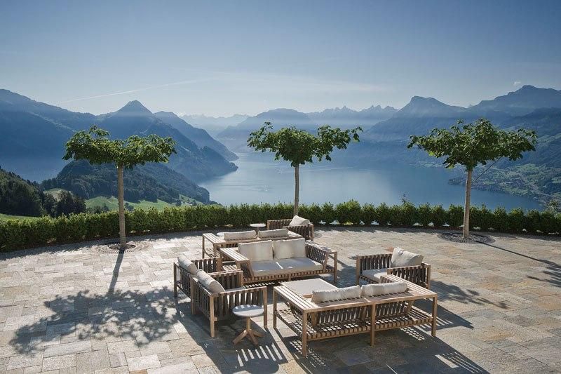 A piscina infinita nos alpes suíços onde seus sonhos dormem 14