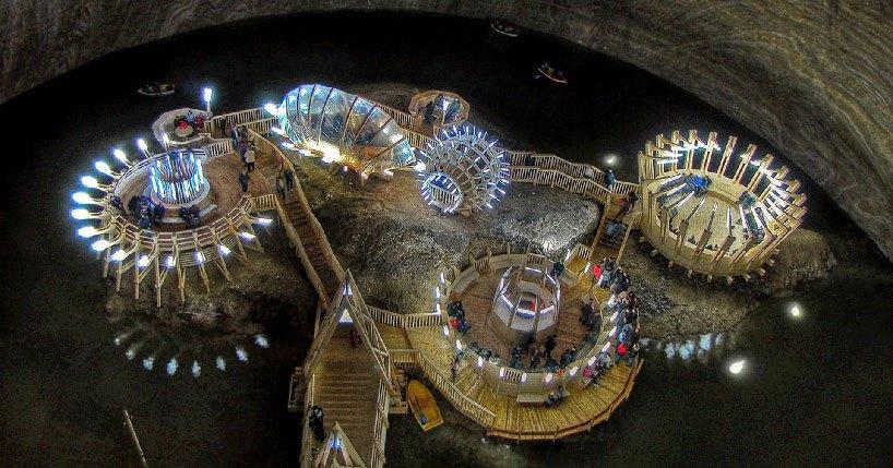 Mina de sal romena do século 17 é transformada em uma atração turística muito bacana 01