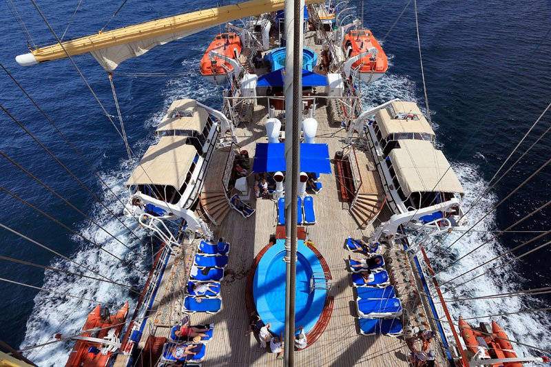 Conheça o maior veleiro do mundo 04