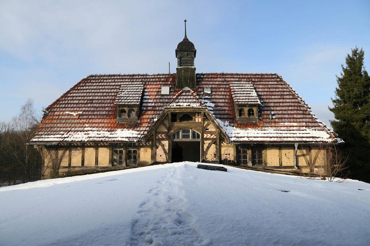 O hospital abandonado onde trataram Hitler é um dos lugares mais arrepiantes que existem 01