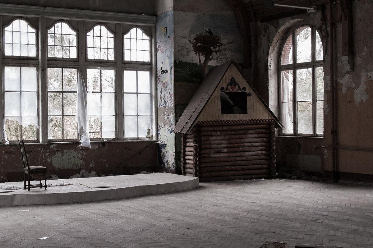 O hospital abandonado onde trataram Hitler é um dos lugares mais arrepiantes que existem 03