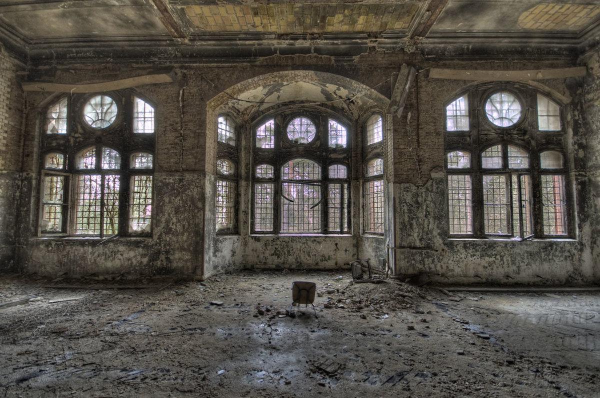 O hospital abandonado onde trataram Hitler é um dos lugares mais arrepiantes que existem 04