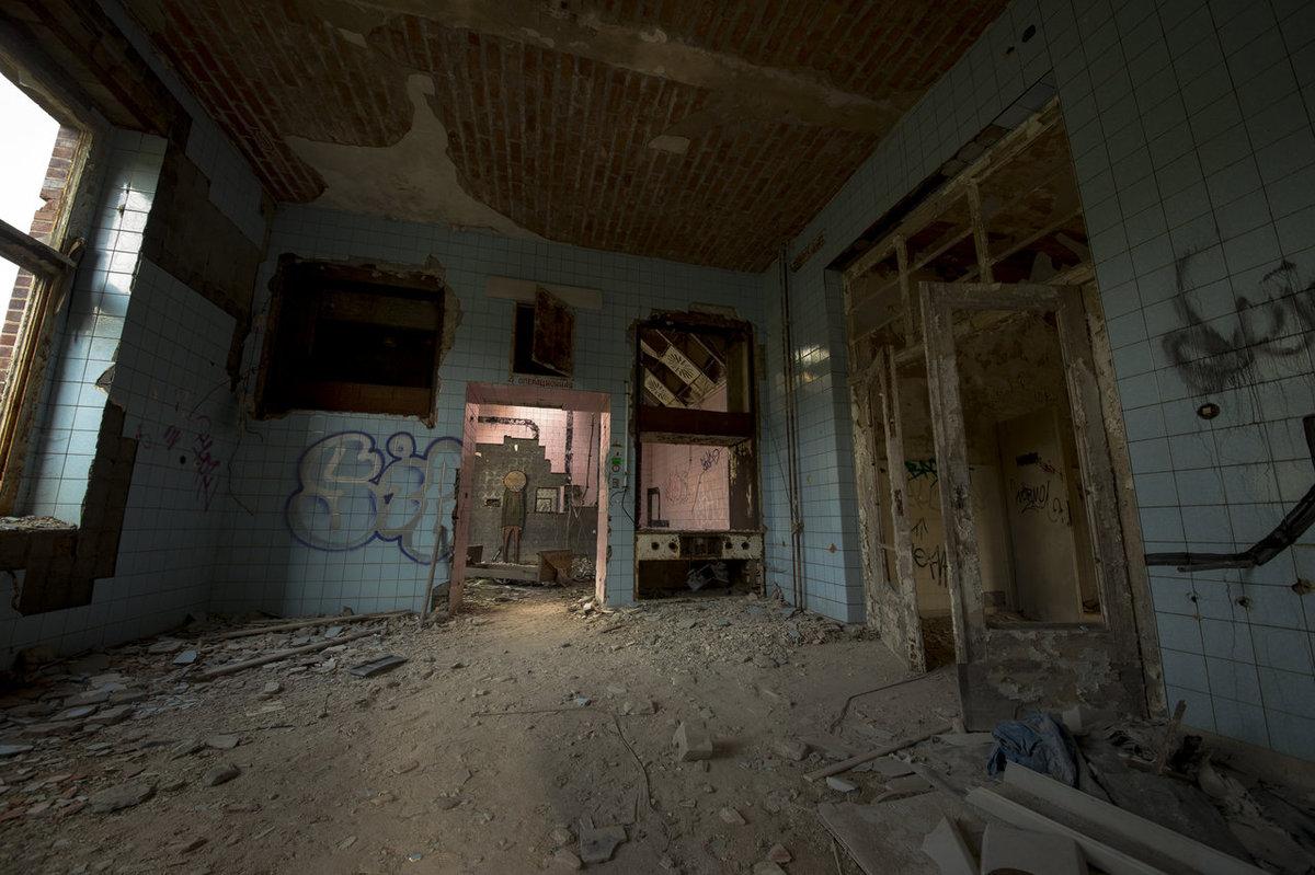 O hospital abandonado onde trataram Hitler é um dos lugares mais arrepiantes que existem 07