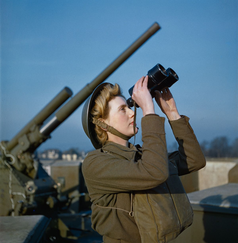Raríssimas fotos da Segunda Guerra Mundial em cores brilhantes e imersivas 01