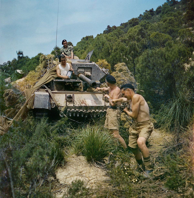 Raríssimas fotos da Segunda Guerra Mundial em cores brilhantes e imersivas 02