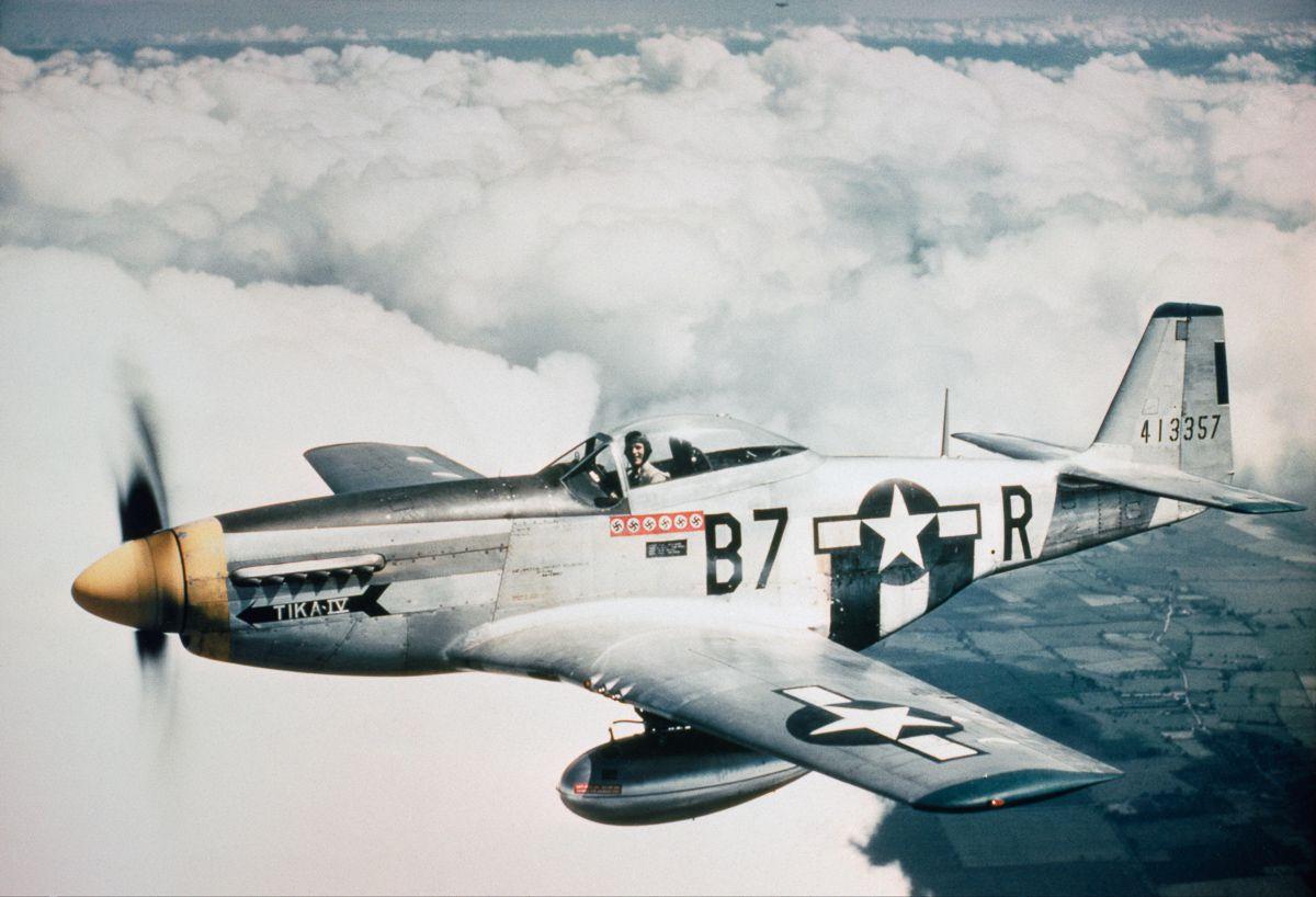 Raríssimas fotos da Segunda Guerra Mundial em cores brilhantes e imersivas 10