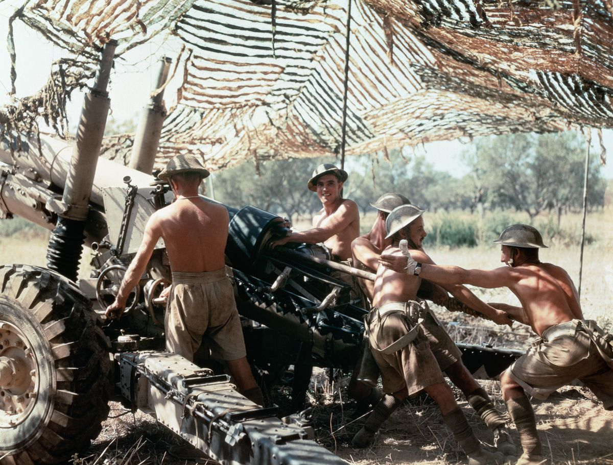 Raríssimas fotos da Segunda Guerra Mundial em cores brilhantes e imersivas 11