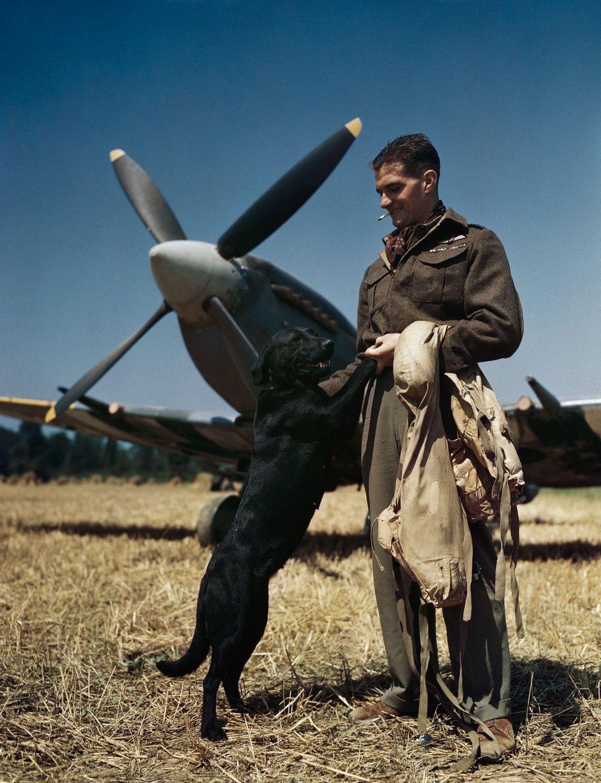 Raríssimas fotos da Segunda Guerra Mundial em cores brilhantes e imersivas 13