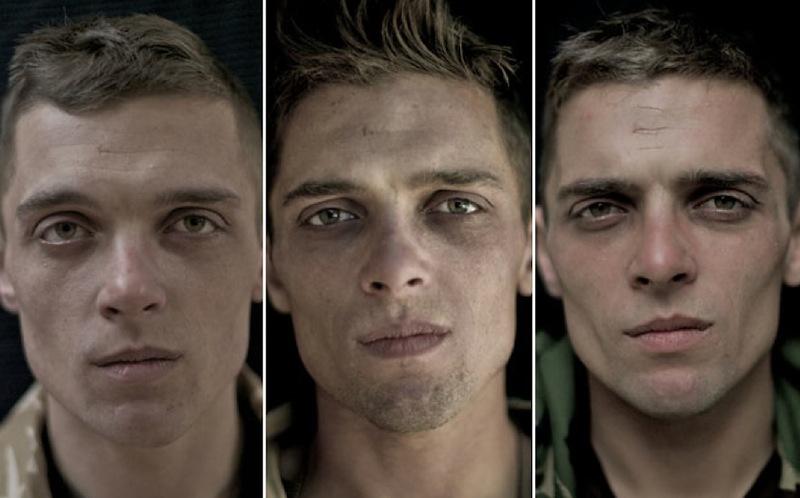 O rosto da guerra: fotografias de soldados antes, durante e após o Afeganistão 01