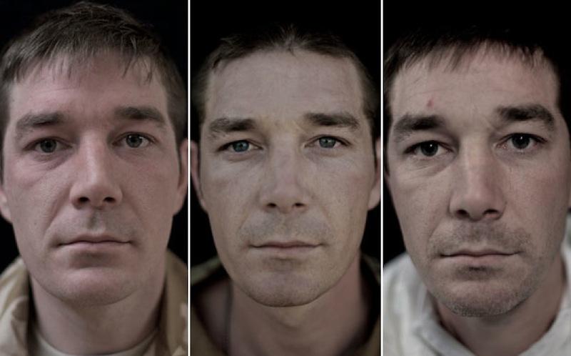 O rosto da guerra: fotografias de soldados antes, durante e após o Afeganistão 06