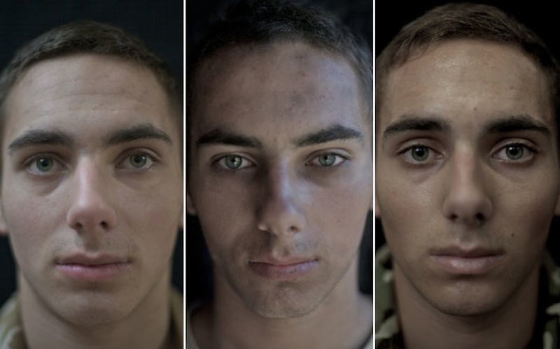 O rosto da guerra: fotografias de soldados antes, durante e após o Afeganistão 07