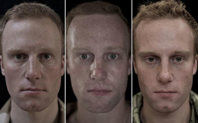 O rosto da guerra: fotografias de soldados antes, durante e após o Afeganistão 10