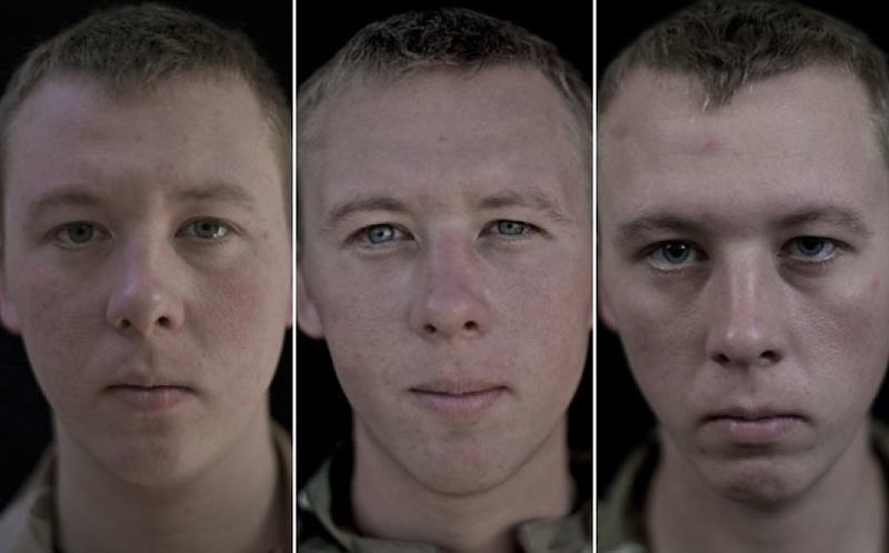 O rosto da guerra: fotografias de soldados antes, durante e após o Afeganistão 12